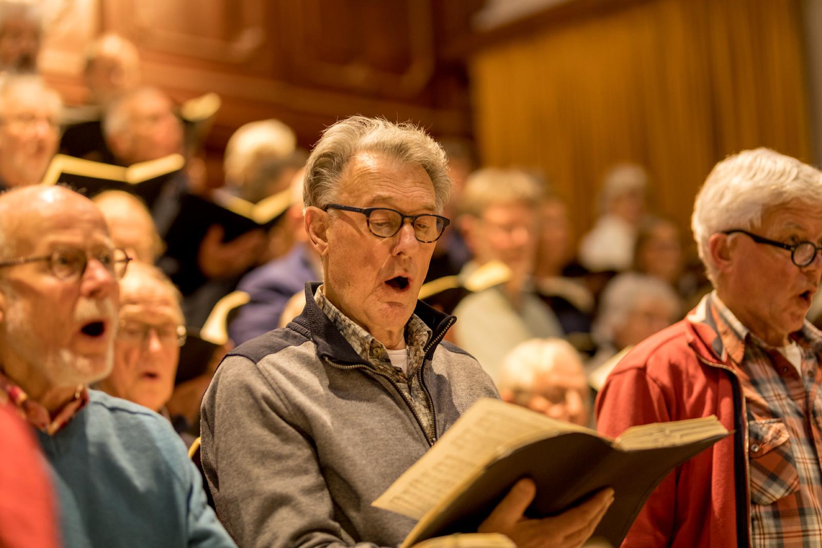 oratorium vereniging Soli Deo Gloria in Hoorn; oratoria, cantates, missen